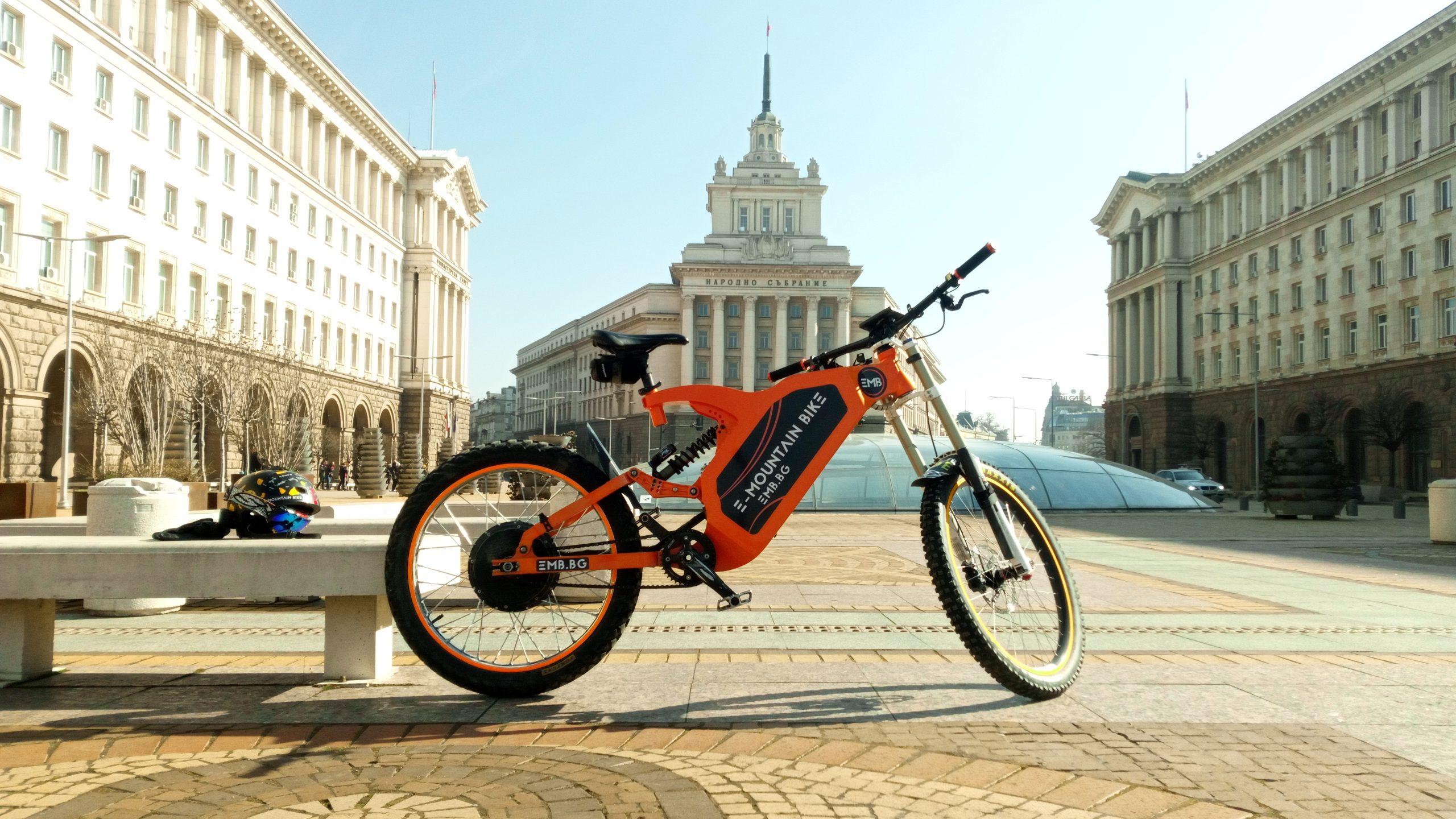 електрическо колело под наем софия